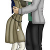 Tsukiko and Kyousuke